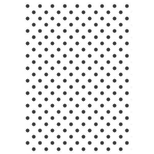 TAFELGUT / Baliaci papier Black Flower Pattern - 2 listy