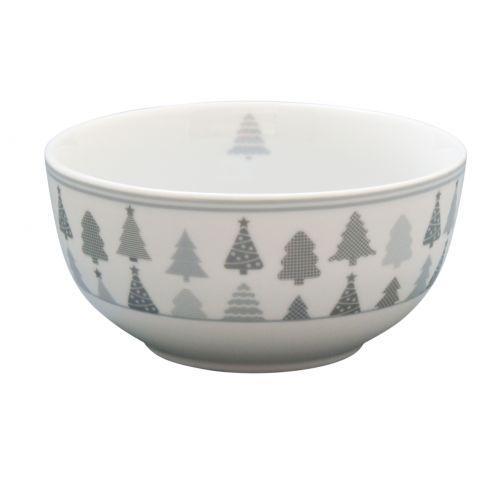 Krasilnikoff / Porcelánová miska Christmas Trees