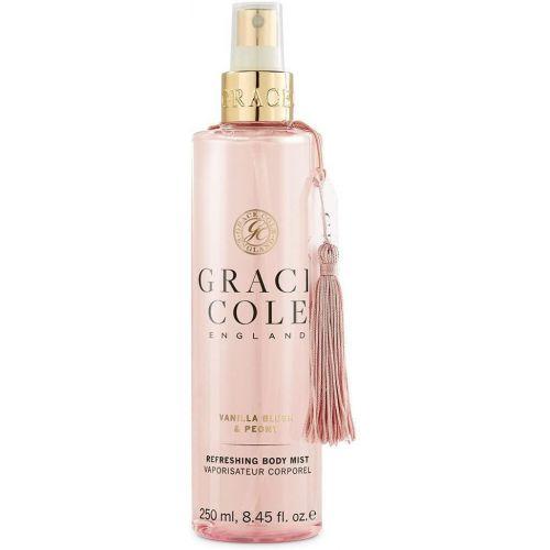Grace Cole / Telová hmla Vanilla Blush & Peony 250ml