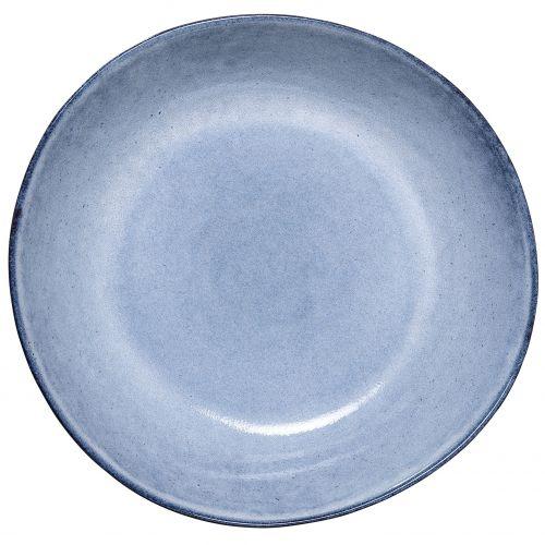 Bloomingville / Hlboký keramický tanier Sandrine Blue