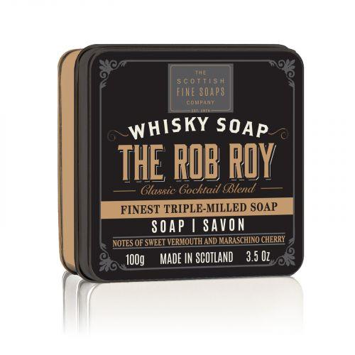 SCOTTISH FINE SOAPS / Mydlo v plechovej krabičke The Rob Roy