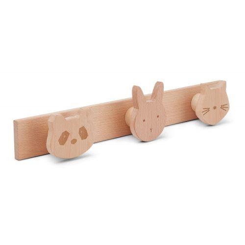 LIEWOOD / Detský drevený vešiak Elenor Beech Rack