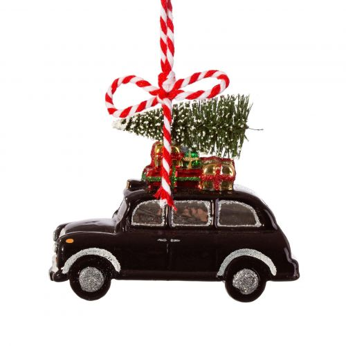 sass & belle / Vianočná ozdoba London Christmas Black Cab