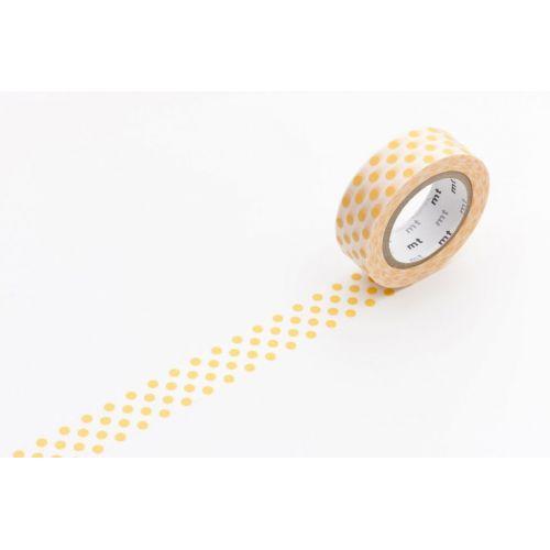 MT / Designová samolepící páska Dot apricot