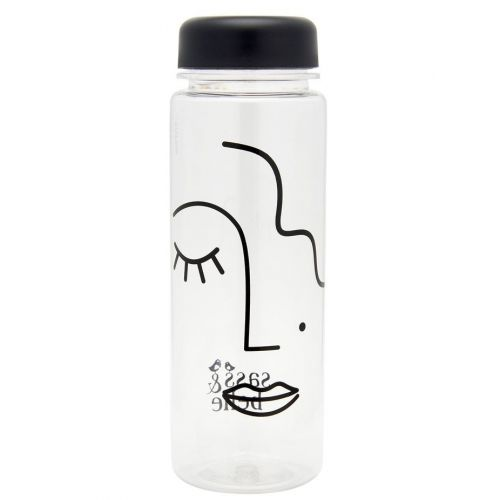 sass & belle / Fľaša na vodu Abstract Face 500ml