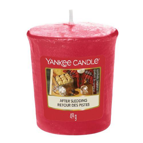 Yankee Candle / Votívna sviečka Yankee Candle - After Sledding