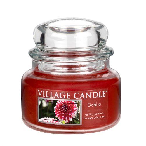 VILLAGE CANDLE / Svíčka ve skle Dahlia - malá