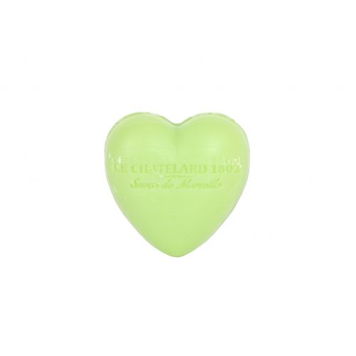 LE CHATELARD / Francúzske mydlo Heart - Oliva a lipový kvet 25gr