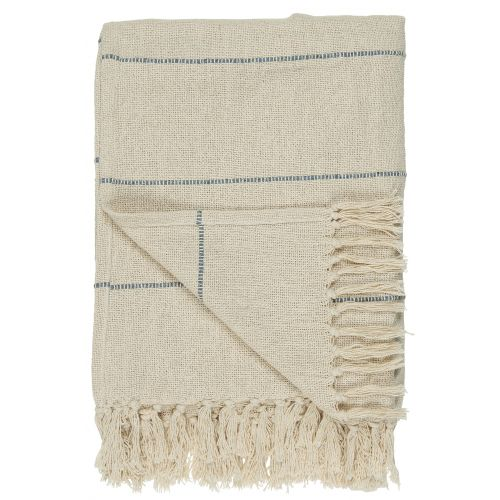IB LAURSEN / Bavlnený prehoz Stripes Across 130x160