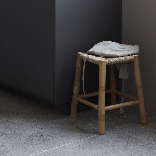 House Doctor / Bambusová stolička s výpletom Seagrass