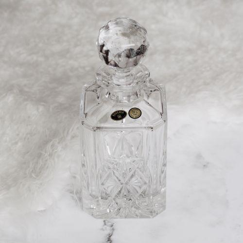 CRYSTAL BOHEMIA / Krištáľová karafa York - Crystal BOHEMIA 0,75 l
