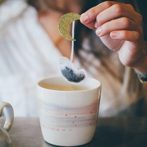 TEA HERITAGE / Čaj rooibos s kokosom Golden Moon 5 ks