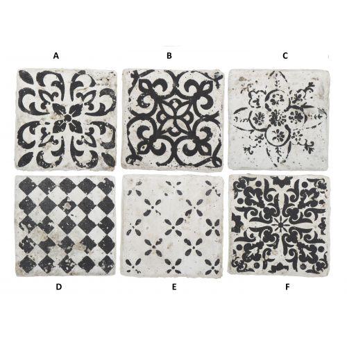 IB LAURSEN / Mini keramická kachlička Marrakech Black
