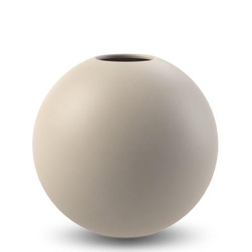COOEE Design / Guľatá váza Ball Sand 10 cm