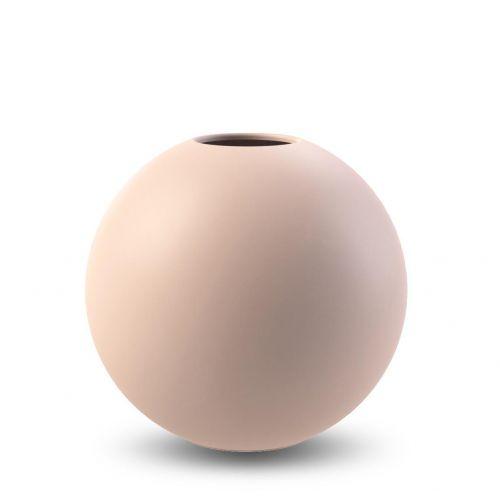 COOEE Design / Guľatá váza Ball Dusty Pink 10 cm