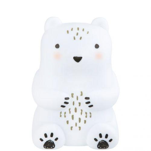 sass & belle / Detské nočné svetielko White Teddy Bear