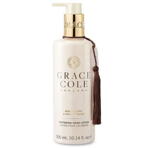 Grace Cole / Mlieko na ruky Oud Accord & Velvet Musk 300ml