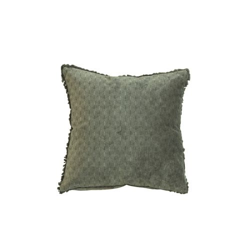 Chic Antique / Bavlnený vankúš Moulin 40x40 cm Olive Green