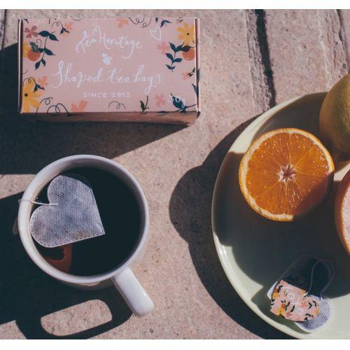 TEA HERITAGE / Zelený čaj s jazmínom Coeur XOXO 15 ks