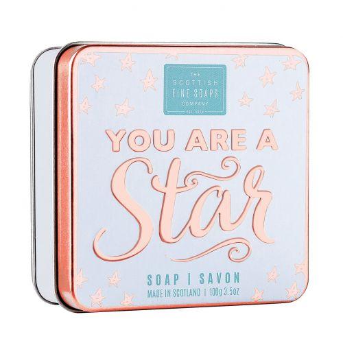 SCOTTISH FINE SOAPS / Mydlo v plechovej krabičke You are