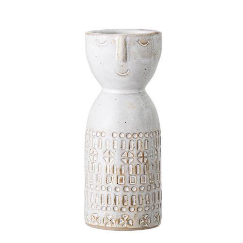 Bloomingville / Keramická váza White Face