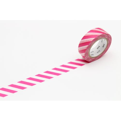 mt / Japonská papierová páska Magenta Stripe