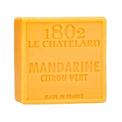 LE CHATELARD / Marseillské mydlo 100 gr - mandarinka a limetka
