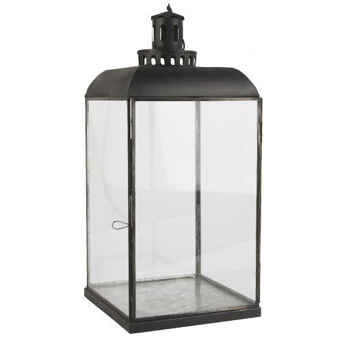IB LAURSEN / Veľký sklenený lampáš Black