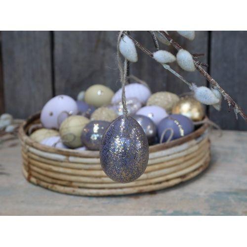 Chic Antique / Veľkonočné vajíčko Gold Mica