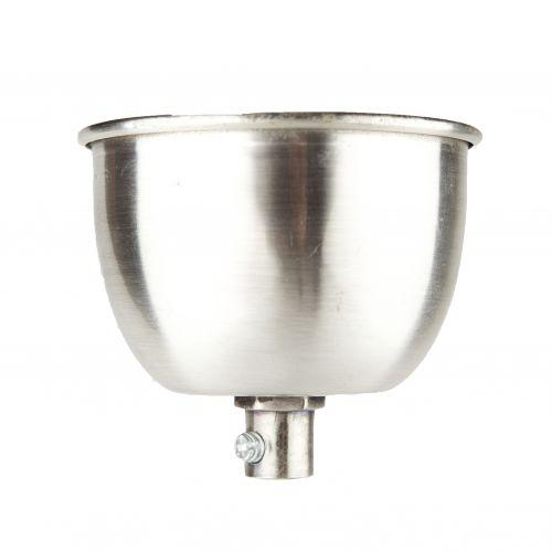 Hübsch / Stropná krytka Metal silver