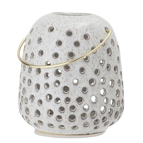Bloomingville / Keramický lampáš Holes