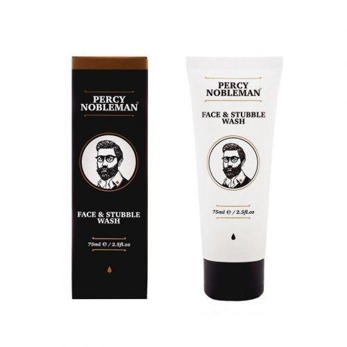 Percy Nobleman / Pánsky čistiaci gél na tvár a fúzy - 75 ml