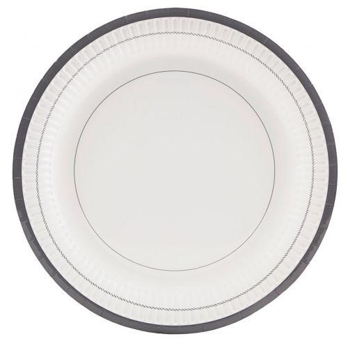 Nicolas Vahé / Papierové tanieriky Stripe - 12 ks