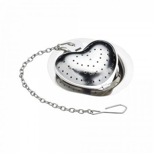 Kitchen Craft / Sitko na čaj s táckou Le'Xpress Heart