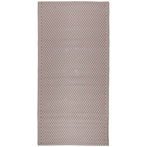 IB LAURSEN / Plastový koberec Recycled Pink 90x180 cm
