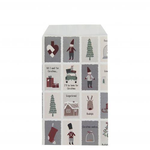 IB LAURSEN / Papierový sáčok Nostalgic Christmas XS