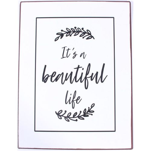 La finesse / Plechová ceduľa It's a Beautiful Life