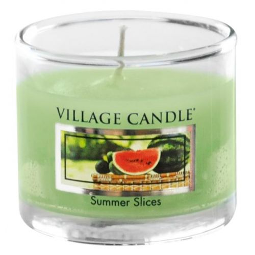 VILLAGE CANDLE / Mini svíčka Village Candle - Summer Slice