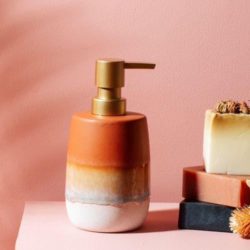 sass & belle / Keramický zásobník na mydlo Mojave Glaze Terracotta