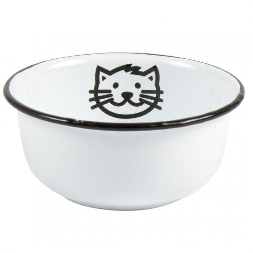 IB LAURSEN / Menšia smaltovaná miska Cat