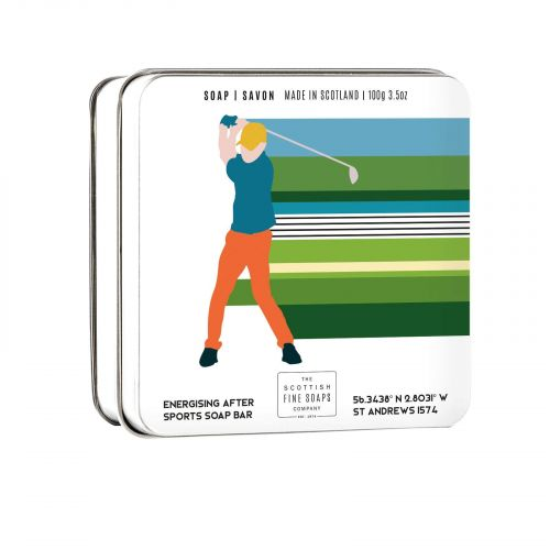 SCOTTISH FINE SOAPS / Mydlo v plechovej krabičke Golf - 100 g