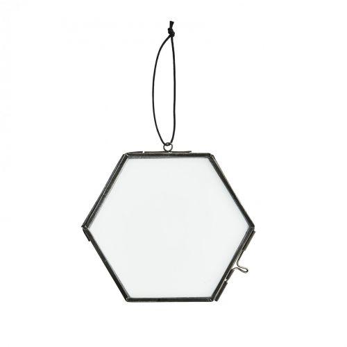 MADAM STOLTZ / Závesný fotorámček Hexagon