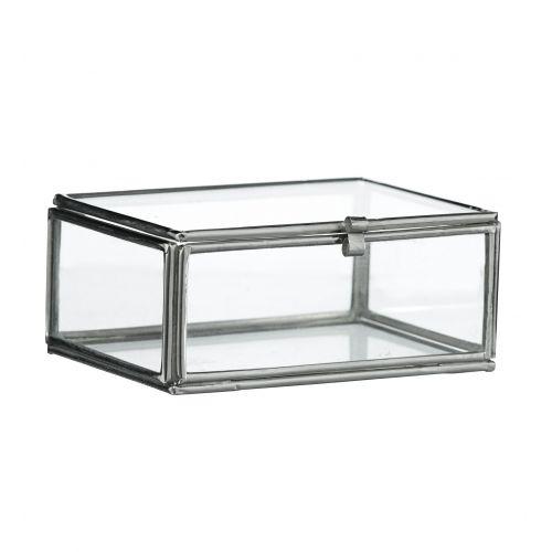 MADAM STOLTZ / Sklenená krabička Glass