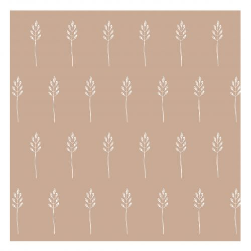 IB LAURSEN / Papierové obrúsky Wild Wheat Malva - 20 ks