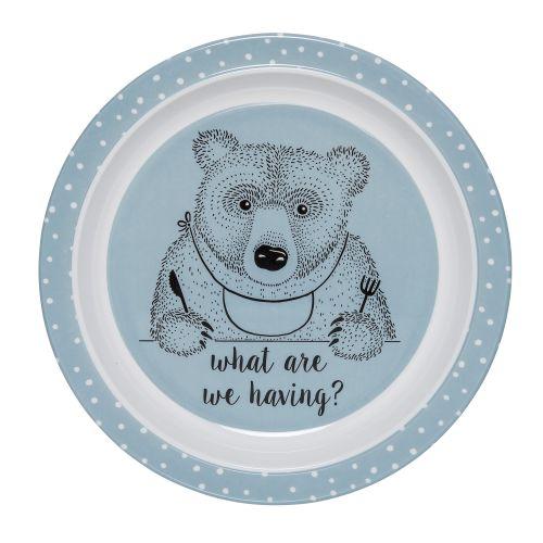 Bloomingville / Melamínový tanierik pre deti Toby