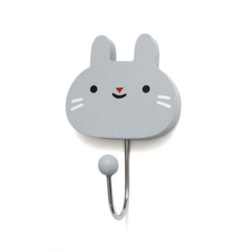 PETIT MONKEY / Věšáček Bunny grey