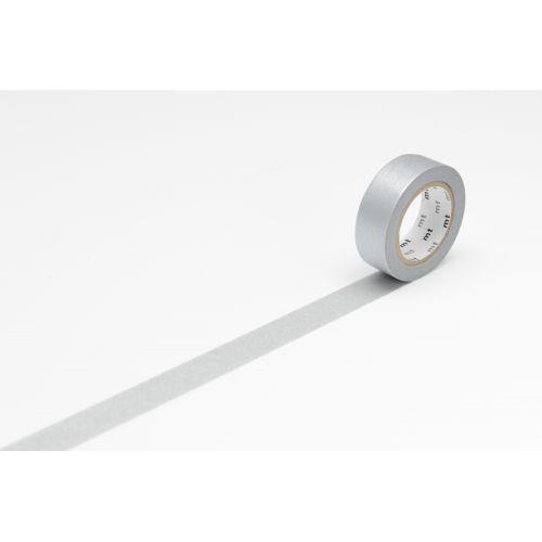 mt / Dizajnová samolepiaca páska Metal silver
