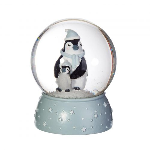 sass & belle / Vianočné snežítko Mum and Baby Penguin
