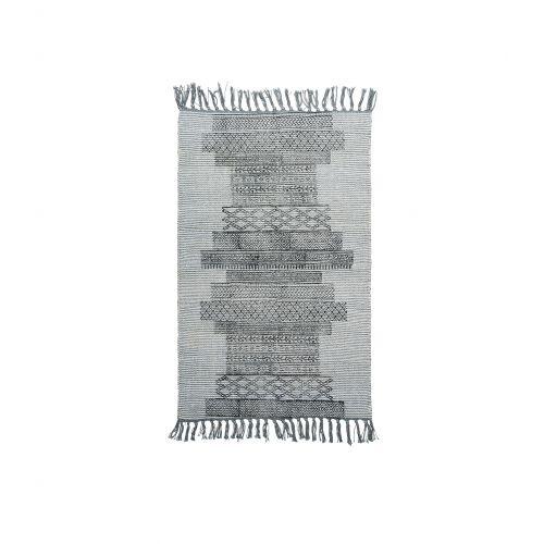 House Doctor / Bavlnený koberček Karma Grey 60x90 cm