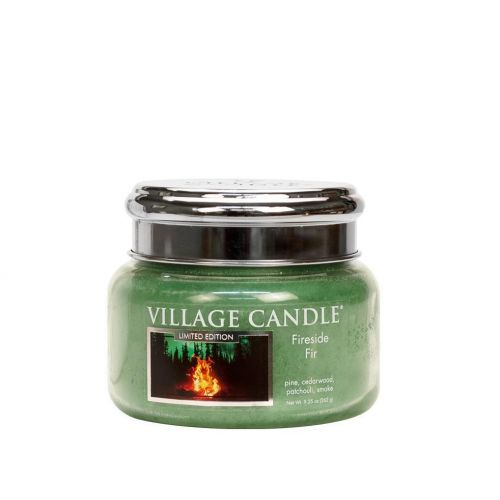 VILLAGE CANDLE / Svíčka Village Candle - Fireside Fir 262g